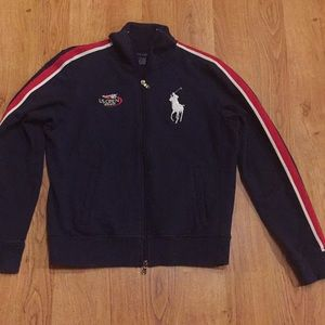 Ralph Lauren Zippered Sweatshirt US Open 2009